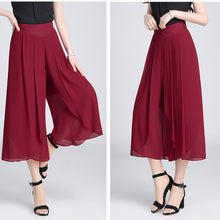 EveingAsky 2017 Women Casual Casual Loose Warders Wide Leg Palazzo Trousers Stretch Pants Women's Clothing Summer Plus Size M-4X