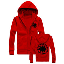 Fashion Men Hoodies Sweatshirts Red Hot Chili Peppers Hip Hop Hoodie Black Jacket Men Clothes Hooded Hombre
