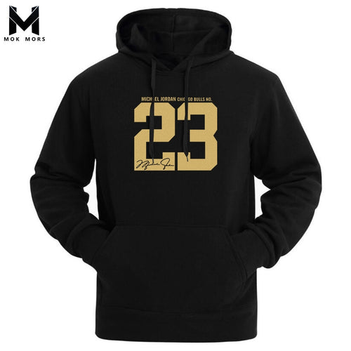 Fashion Men's New High Street Casual Jogger Sportswear Men Hoodies Sweatshirts Casual Wild 23 Printed Cotton Mens Hoodie