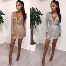 Feditch 2018 Spring New Knitting Long Sleeve Women Dress Elegant V Neck With Belt Bodycon Dress Women Sexy Clubwear Vestidos