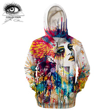 Flora by Pixie cold Art Printed 3D Zipper Hoodies Men  Zipper Hooded Sweatshirts Tracksuits Brand Pullover Jacket Streetwear