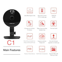 Foscam C1 IP Camera Wireless 720P HD CCTV Indoor Security Camera with Night Vision Motion Detection Alerts 2-Way Audio