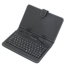 "Free Shipping micro usb Leather Case Russian Keyboard for 7"" 8"" 9"" 9.7"" 10.1"" Tablet PC add style have more language keyboard"