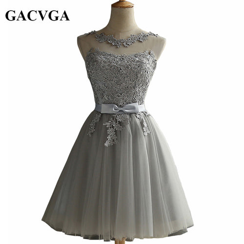 GACVGA Elegant Lace Diamond Summer Dress Sleeveless Lovely Short Dress For Women Sexy Slim christmas Party Dresses Vestidos