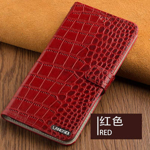 Genuine Leather flip case for Apple iphone 11 11 pro max 7 plus X XS XSMax XR 6 8 5 6s bracket phone Cover wallet with card slot