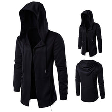 Hooded Sweatshirts Men Hip Hop Mantle Hoodies Jacket Long Sleeve Cloak Male Outwear Coat Moleton Masculino Streewear Hoodie