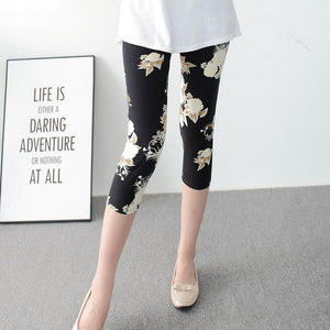 Hot Fashion Summer New stretch milk silk leggings Women sporting leggings fitness Lady Printed leggings workout push up leggings