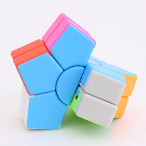 JieHui Speed Cube Professional Magic Cube Puzzles Colorful Educational Toys For Children ABS Rubiks Cube Learning&Educational