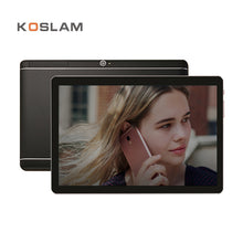 KOSLAM 10 Inch Android 7.0 Tablet PC 1920x1200 IPS Screen Quad Core 2GB RAM 16GB ROM Dual SIM Card 4G LTD FDD Phone Call Phablet