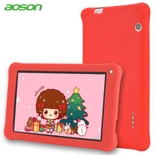 Kids Pad Aoson M753 7 inch Tablet 16GB+1GB Android 7.1  Kids Learning Tablet PC with  Silicone Case Software Parental Control