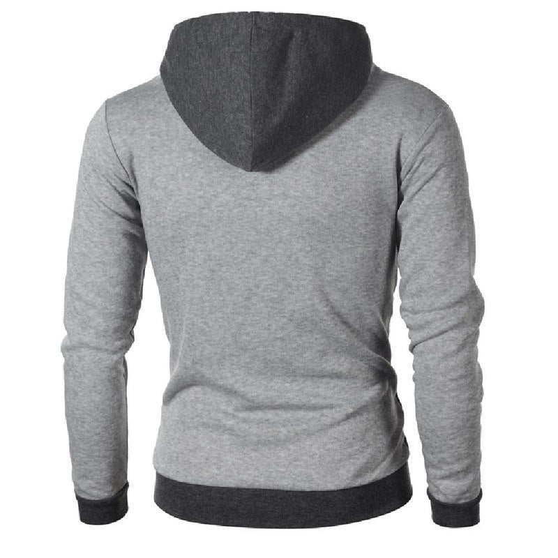 5b640c5cc ... LASPERAL Hoodies Men Cotton Fashion Men Hoodies Casual Mens Sweatshirt  Solid Color Warm Zipper 2018 Autumn ...
