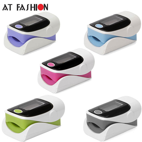 LED Fingertip Pulse Oximeter Oximetro blood oxygen monitor De Pulso Dedo Saturation Meter Pulsioximetro Oled Heart Rate Monitor