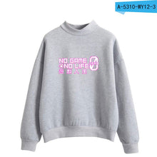 LUCKYFRIDAYF 2018 NO GAME NO LIFE plus size women's hoodies men hoodies pullover  women hoodies jacket cute hoodies