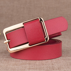Lowest Price Women Thin Belt Hot Design Famous Brand Luxury Female Waist Strap Alloy Buckle Waistband For Trousers Jeans