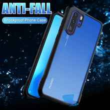 Luxury Silicone Bumper Case On The For Huawei P30 Pro P20 Shockproof Case Cover For Huawei P30 P20 Lite Glass Protective Case