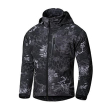 MEGE Brand Clothing Men Military Jacket Windbreaker, Tactical Camouflage Army Autumn Jackets and Coats Men Hoody Windcheater