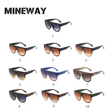 MINEWAY 2018 Sunglasses Women Vintage Luxury Brand Designer Gradient Lens Full Frame Shades UV400 Men Sun glasses Women Oculos