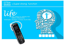 "MOSTHINK GTstar BM50 Mini Mobile Phone 0.66"" Screen Small Size Cellphone 300mAh Bluetooth Earphone SMS TINY Button Phone"