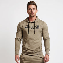 Men Brand Hoodies Fashion Casual gyms fitness  Hooded jacket male cotton Sweatshirts sportswear clothing