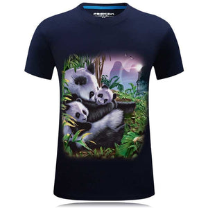 New 2018 Summer Fashion Cool Dog Design Print 3d T Shirt  O-neck Men's High Quality Animal Tops Hipster Hip Hop Casual Brand Tee