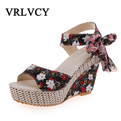 8178ffa30842 New Arrival Ladies Shoes Women Sandals Summer Open Toe Fish Head Fashion  Platform High Heels Wedge