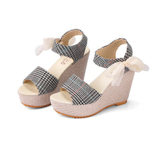 New Arrival Ladies Shoes Women Sandals Summer Open Toe Fish Head Fashion Platform High Heels Wedge Sandals Female Shoes Women