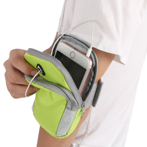 New Running Jogging GYM Protective Phone Bag Sports Wrist Arm Bag Outdoor Waterproof Nylon Hand Bag For Camping Hiking Hot Sale