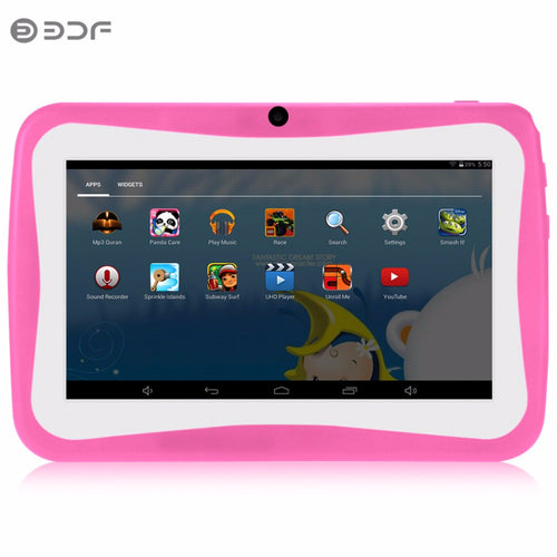 Nice Design KIDS Android Tablets PC WIFI Bluetooth Quad core 1024*600 7 tab pc For baby and kids tablets  Children's exclusive