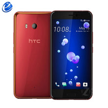 "Original HTC U11 5.5"" inch 4GB RAM 64GB 1 sim/128GB dual sim ROM Octa Core 4G LTE Android phone factory unlocked 12MP cellphone"