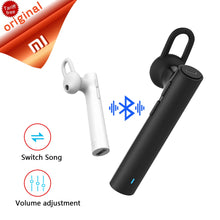 Original Xiaomi Bluetooth Earset Youth Version In ear Headphones Handfree Headset with Mic Mini Earbud Xiaomi Wireless Earphones