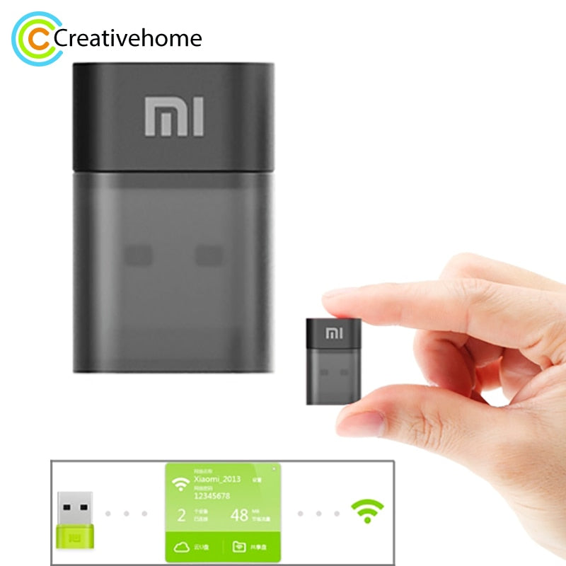 Original Xiaomi Portable Wifi Latest Mini Wireless Router Mobile Wifi 150 Mbps USB Wi-Fi Adapter for Home Office Hotel