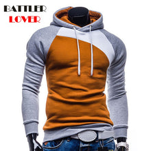 Pullovers Hoodies Men Autumn Thick Hooded Hoodies Mans Patchwork Sweatshirts Hip Hops Males Casual Brand Clothing Hoody Jacket