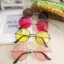 Retro Round Sunglasses Women Brand Designer Sun Glasses For Women Alloy Mirror Sunglasses female