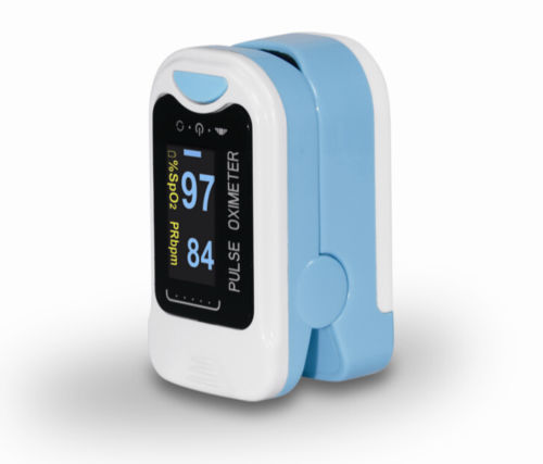 Sales! CMS50NA Pulse Oximeter Fingertip blood oxygen saturation, SpO2,PR monitor,OLED