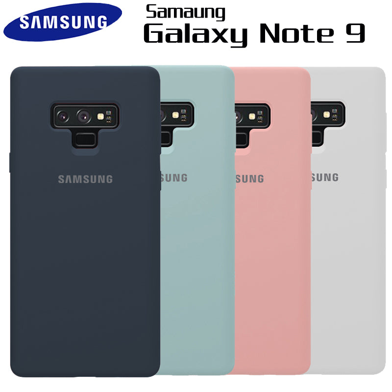 brand new c6eb2 2324d Samsung Note 9 Case Original Silicone Soft Case Samsung Galaxy Note 9 Case  Galaxy Note9 Silicone Back Cover Protection Funda