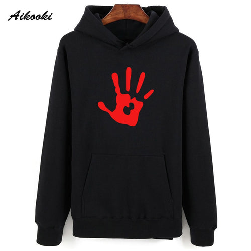 Skyrim dark brotherhood hand Sweatshirt Hoodies Aikooki 2018 women/men Hoodies Sweatshirt Men Casual Winter Hoodied Men Hoody 1