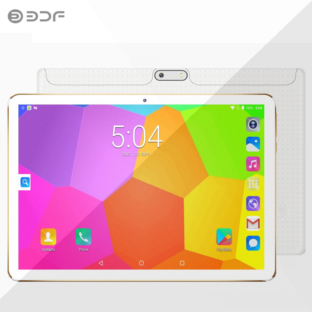 Tablet Pc 10 Inch 4GB RAM 32GB ROM Tablet Android Quad Core 1280*800 IPS Dual Camera 5.0MP Android 7.0 WiFi Bluetooth 3G Phone