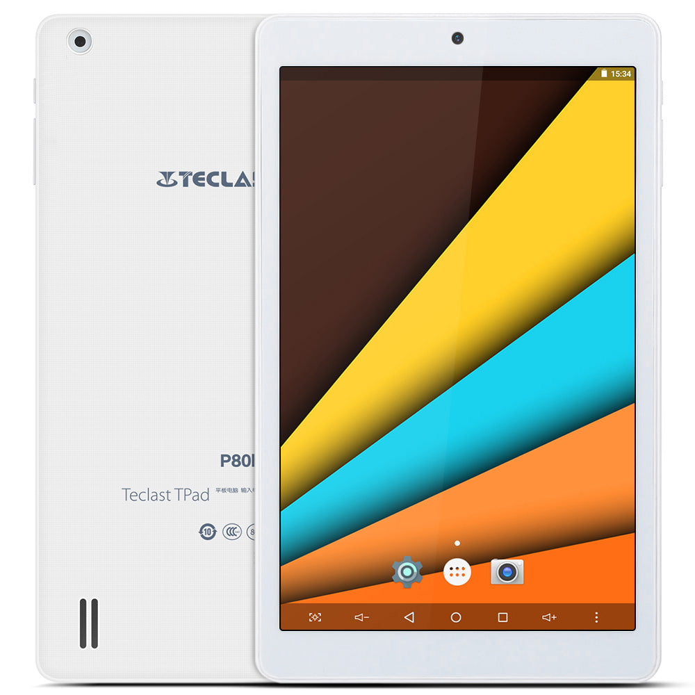 Teclast P80h 8'' Android 7.0 Tablet PC IPS Screen MTK8163 64bit Quad Core 1.3GHz 1GB+8GB Dual WiFi Cameras Bluetooth 4.0 HDMI