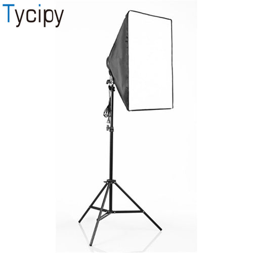 Tycipy 50x70cm E27 four lamp head photography Soft Box Lighting Accessories for Photo Video Studio Light Diffuser Soft box