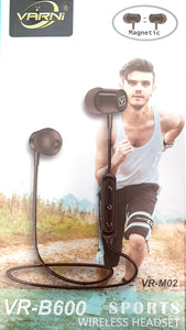 Varni VR-B600 Sports Wireless Headset Magnetic headphones
