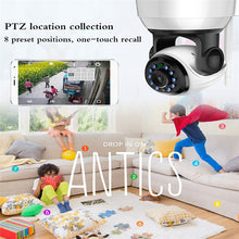 WIFI IP Security Camera 720P HD video Home Security Surveillance 360 Night Vision Two-way Audio Motion Detection Camera Indoor