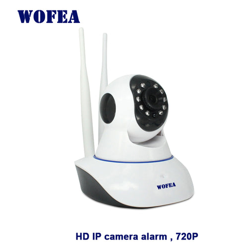 WOFEA wireless ip camera 720p wi-fi cctv home security camera surveillance on WIFI baby monitor for wifi alarm system