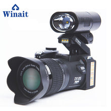 Winait Polo brand D7100/d7200 33MP DSLR digital video camera with changeable lens
