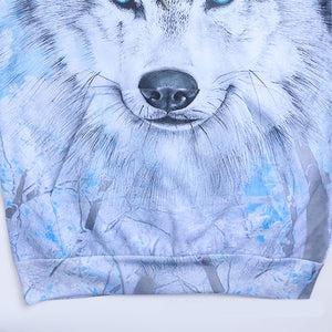 Wolf Sweatshirts Hooded Jackets Men Women Autumn Winter Hoodies 3d Brand Male Long Sleeve Tracksuit Casual Pullovers Plus Size