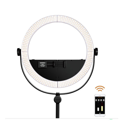 YONGNUO YN508 LED Ring Light Selfie Light Ring Ringlight Photo Studio Light Photography Lighting for Live Video Beauty Selfie