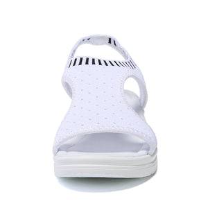 YZHYXS women sandals for 2019 summer new platform sandal shoes breathable comfort shopping ladies walking shoes white black