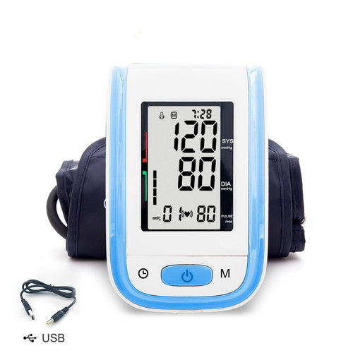 Yongrow Arm Blood Pressure Monitor Medical Upper Cuff Digital Blood Pressure Monitor Health Care Hight Blood Pressure Monitor