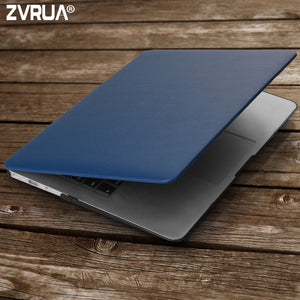ZVRUA Business PU Leather Laptop Cases for MAC APPLE MacBook Air 13 inch