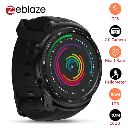 Zeblaze Thor PRO 3G GPS Smart Watch Phone 1.53