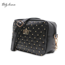 Fashion Crossbody Bags For Women Rivet Chain Shoulder Bag Female Women Messenger Bag Small Crossbody Bags High Quality Handbag